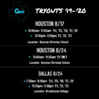 2019-2020 Tryouts
